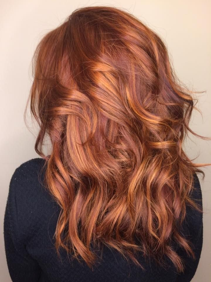 The Best Trendy Hair Highlights Balayage Red And Caramel Pictures