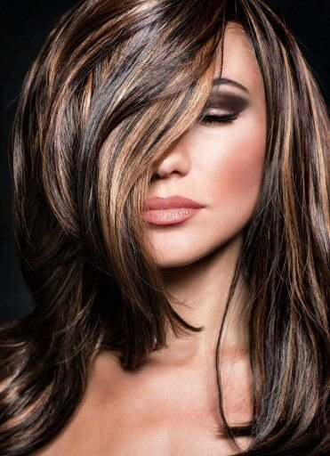 The Best Highlights Lowlights For Dark Brown Hair Beautiful Glamfashion Leading Fashion Pictures