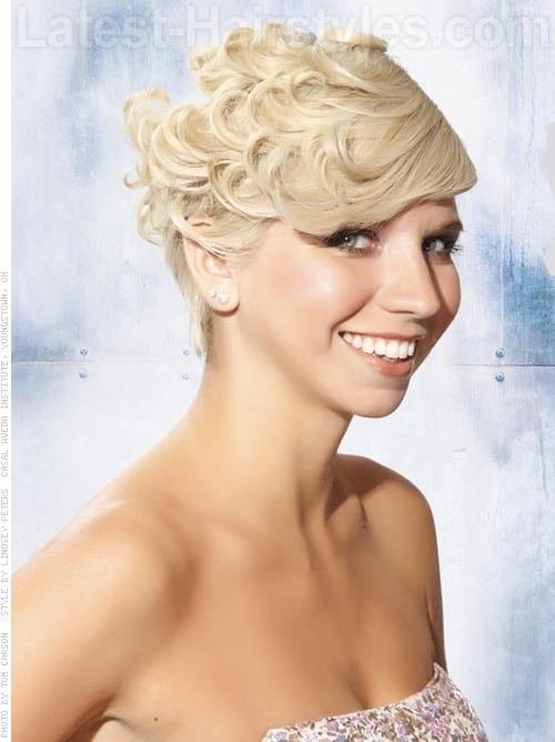 The Best Celebrity Hairstyles Fancy Hairstyles For Short Prom Hair Pictures
