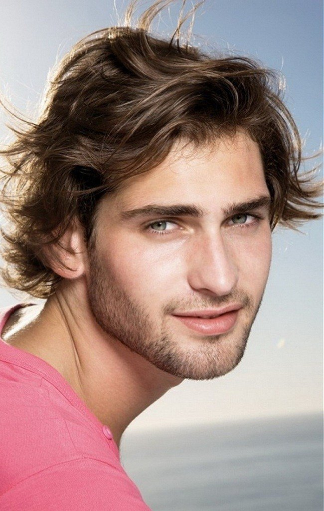The Best Men S Hairstyles Casual Medium Hairstyle For Cool Men Pictures