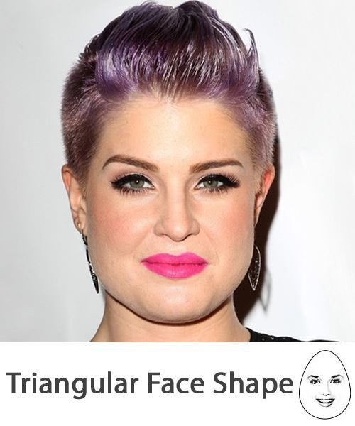 The Best The Right Hairstyles For Your Triangular Face Shape Pictures