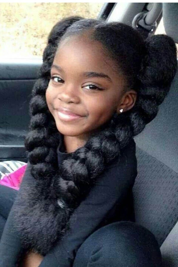 The Best Cute Afro Hairstyles For Black Girls Pictures