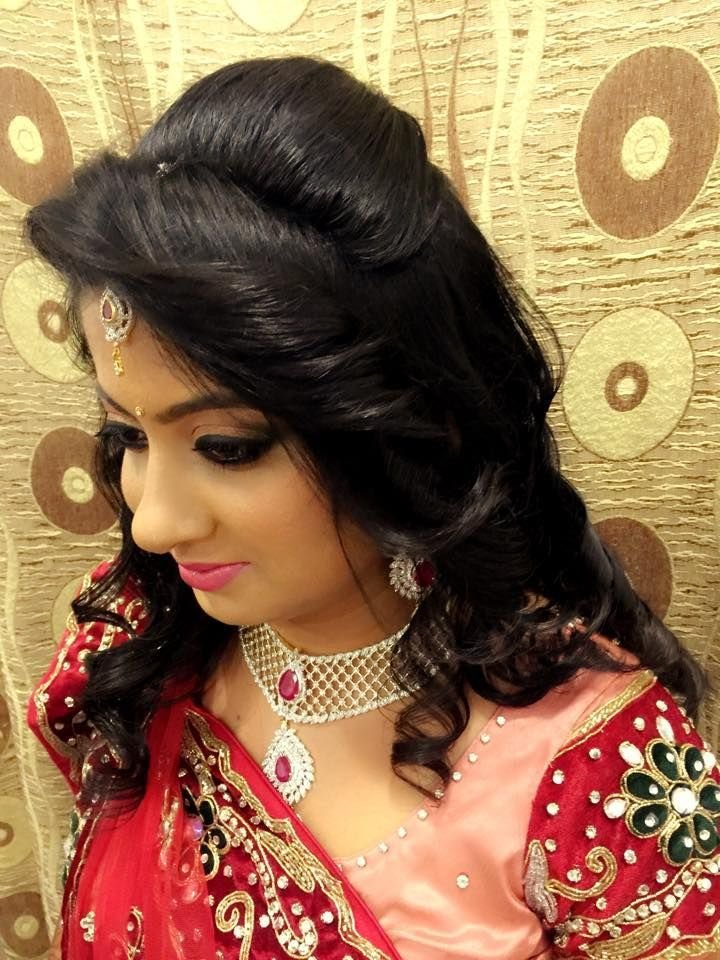 The Best Pin By Shrinkhala Dixit On Brides In 2019 Indian Hairstyles Indian Bridal Hairstyles Open Pictures