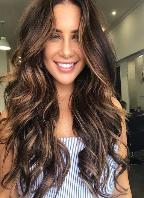 The Best Sultry Caramel Hairstyles Ideas For Spring 2018 Brunette Pictures