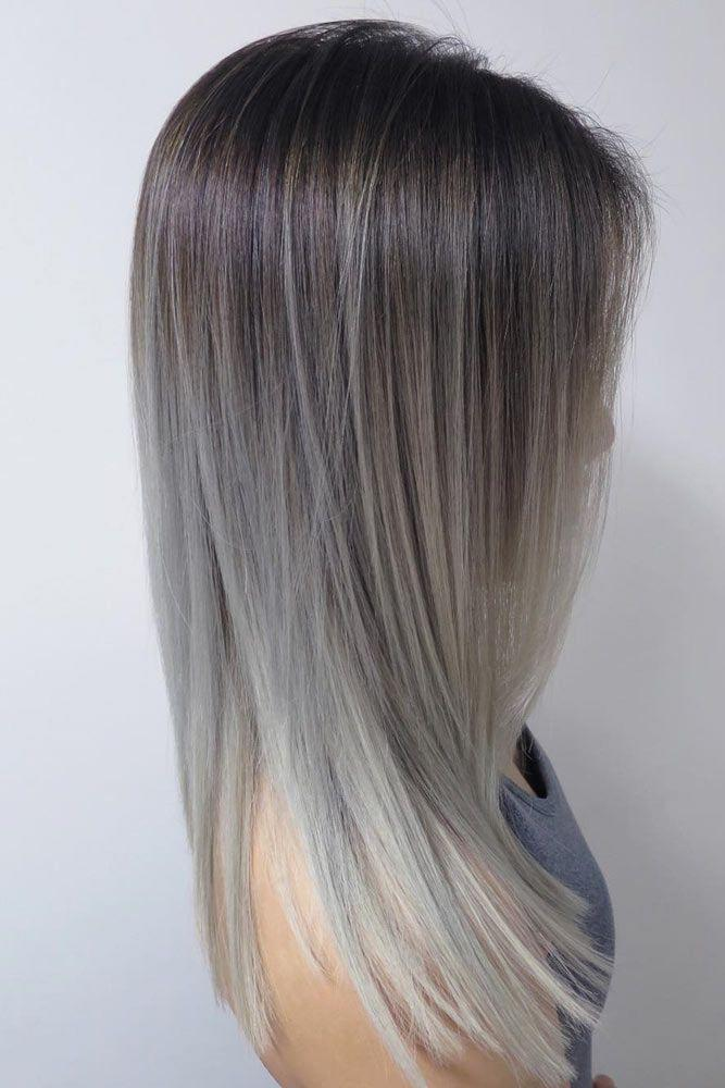 The Best Best 25 Grey Ombre Hair Ideas On Pinterest Black And Pictures