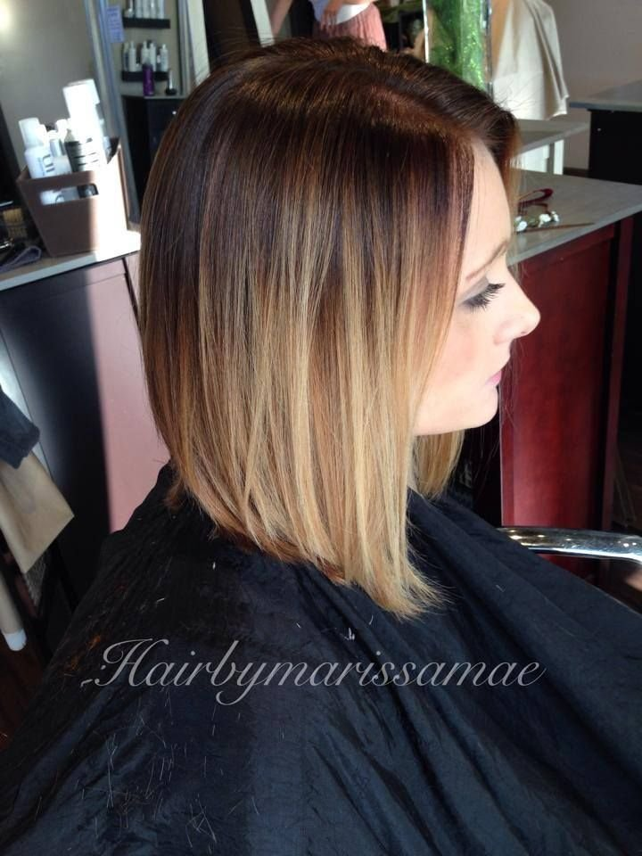The Best Hair Cut Lob Bottom Color Hair By Marissa Mae Find Her Pictures