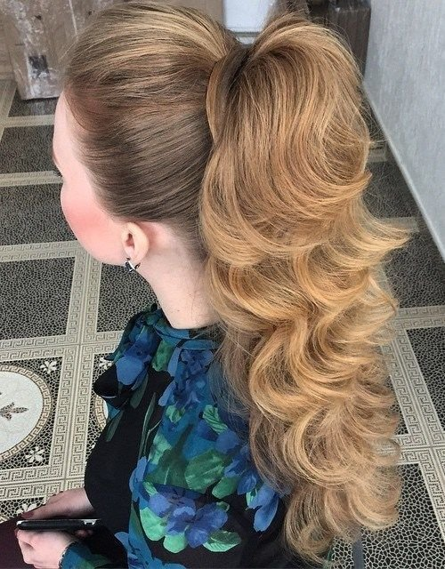 The Best Best 25 High Ponytail Hairstyles Ideas On Pinterest Pictures