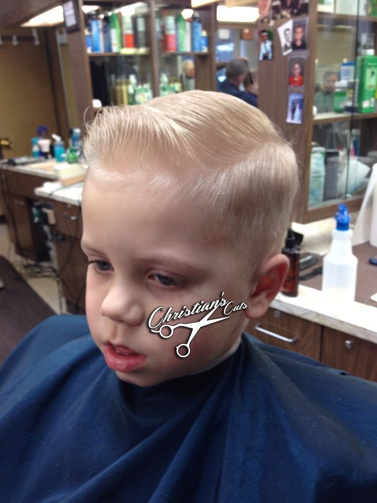 The Best Mini Pompadour Sidepart We Don T Cut Kids We Service Young Gentlemen Haircuts Boy Pictures