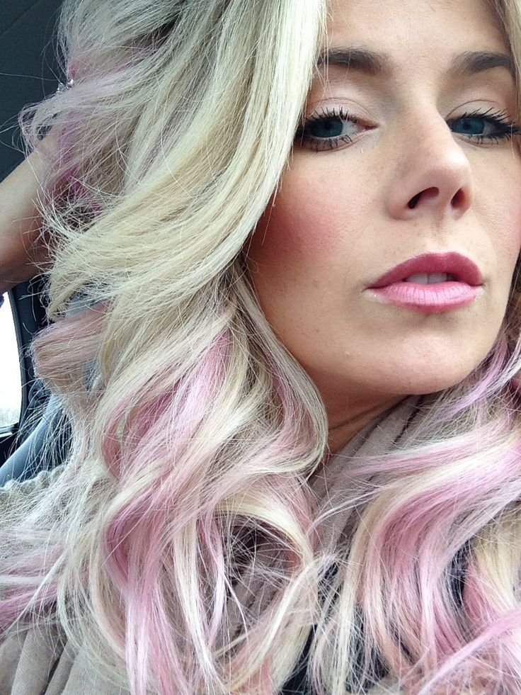The Best Best 25 Pink Hair Highlights Ideas On Pinterest Brown Pictures
