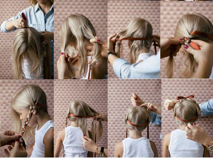 The Best 15 Photos Of The Easy Hairstyle For Girls Step By Step To Pictures