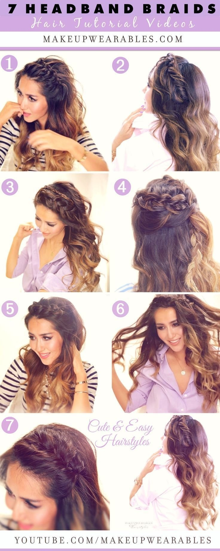 The Best 7 Cute Easy Headband Braid Hairstyles To Try In 2015 Pictures