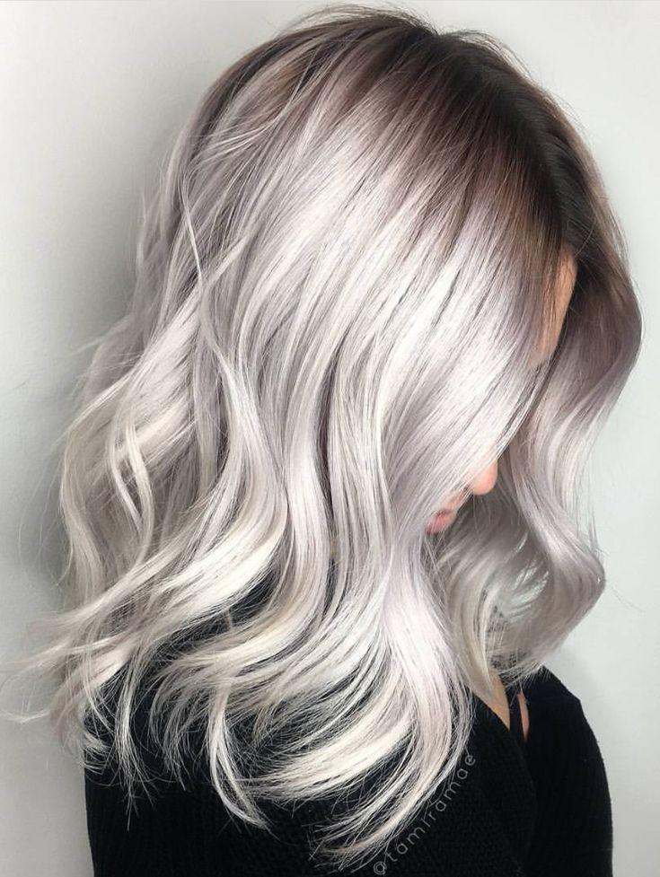 The Best Best 25 Grey Ash Blonde Ideas On Pinterest Ash Blonde Pictures