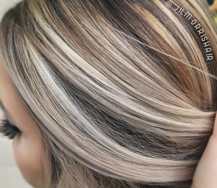The Best Best 25 Brunette With Blonde Highlights Ideas On Pictures