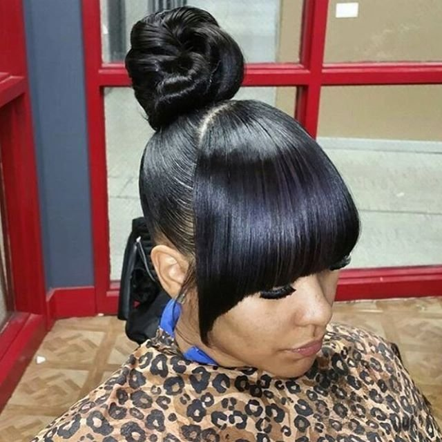 The Best 33 Best Buns Bangs Ponytails Updos Images On Pictures