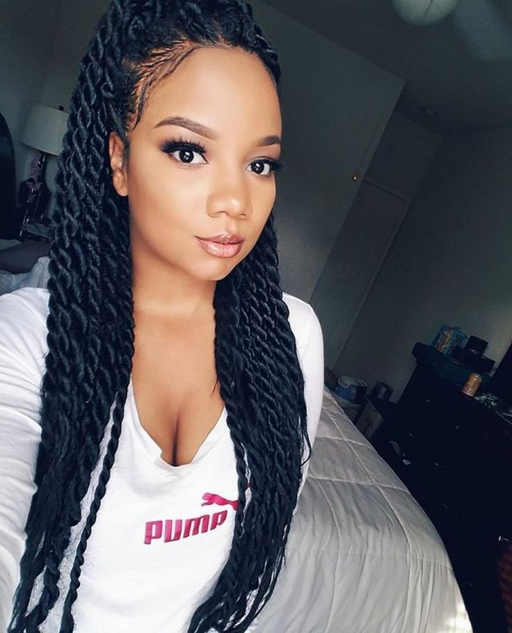 The Best Image Result For Senegalese Twist Medium Length Hair In Pictures