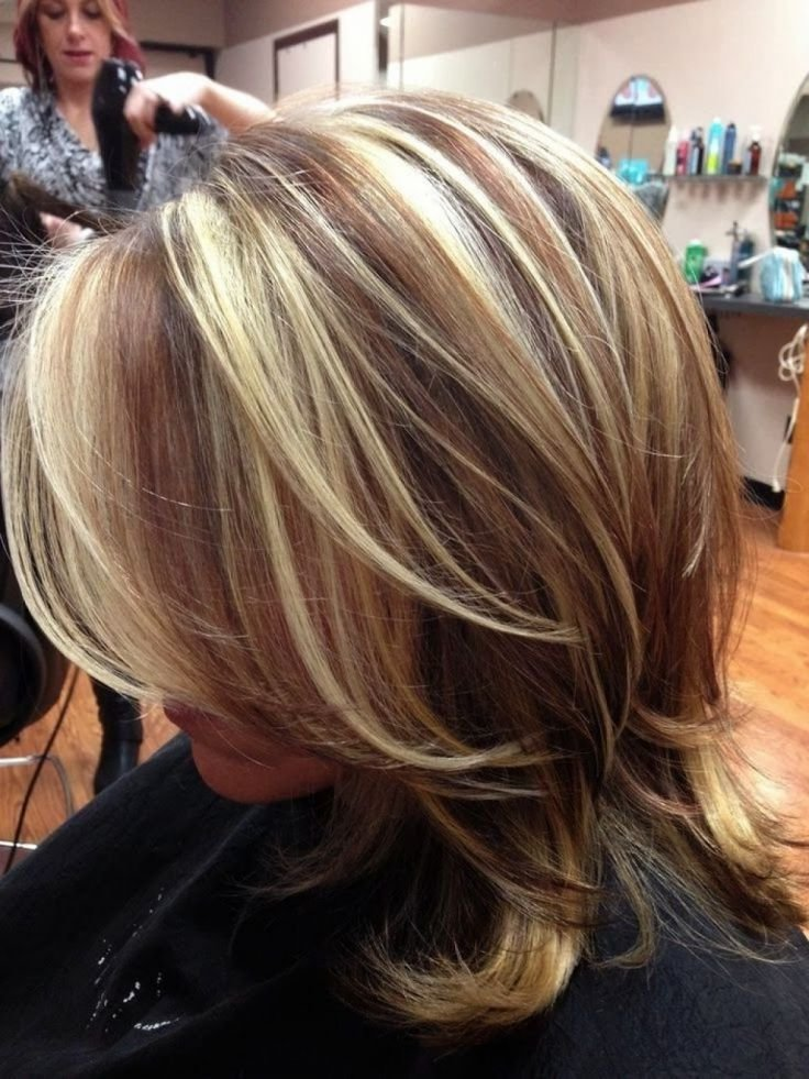 The Best Dark Hair Chunky Blonde Highlights Red Hair With Chunky Pictures
