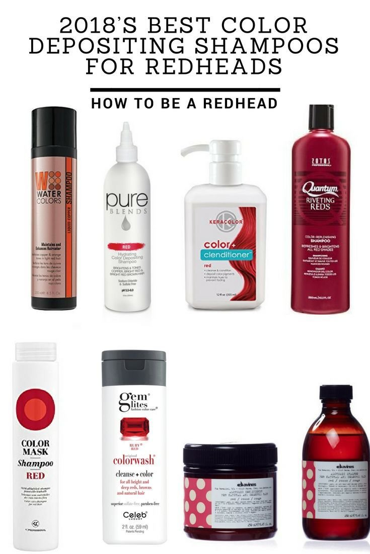 The Best 2018'S Best Color Depositing Shampoos For Redheads Pictures