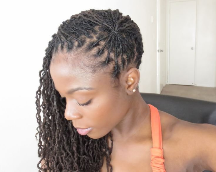 The Best Loc Hairstyle Tutorial The Fan This Is A Very Easy And Pictures