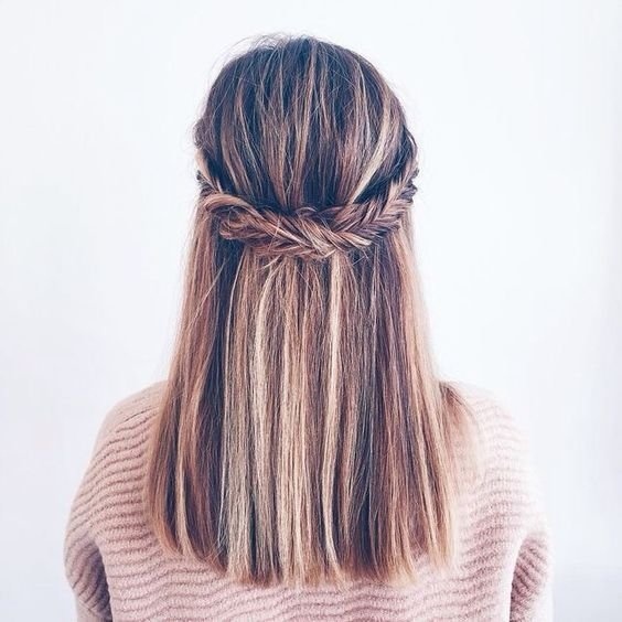 The Best Best 25 Straight Hairstyles Prom Ideas On Pinterest Loose Hairstyles Long Hair Waves And Pictures