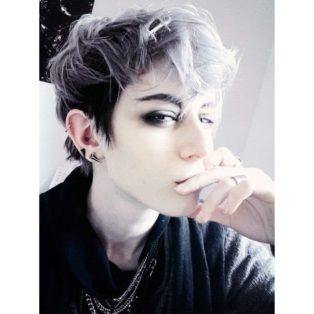 The Best Little Boy Blue Emo Goth Vibes Androgynous Pictures