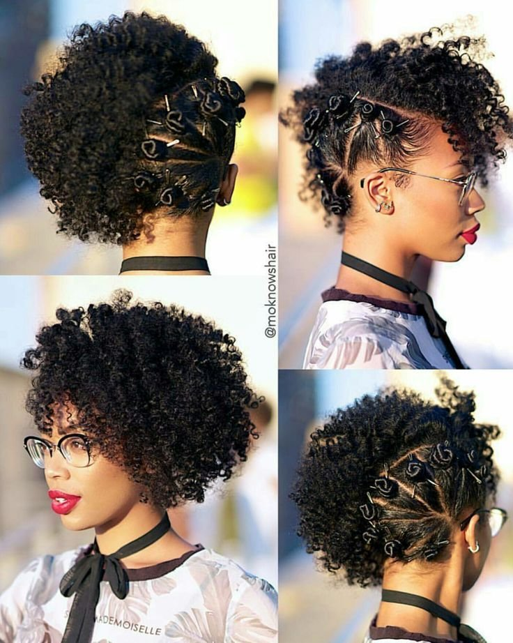 The Best Side Bantu Knots … Hair Natur… Pictures