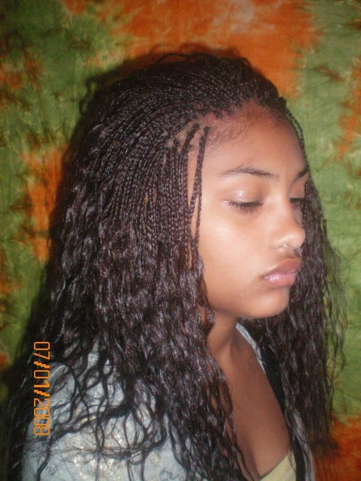 The Best 25 Unique Micro Braids Hairstyles Ideas On Pinterest Box Braids Styling Braid Updo Black Pictures