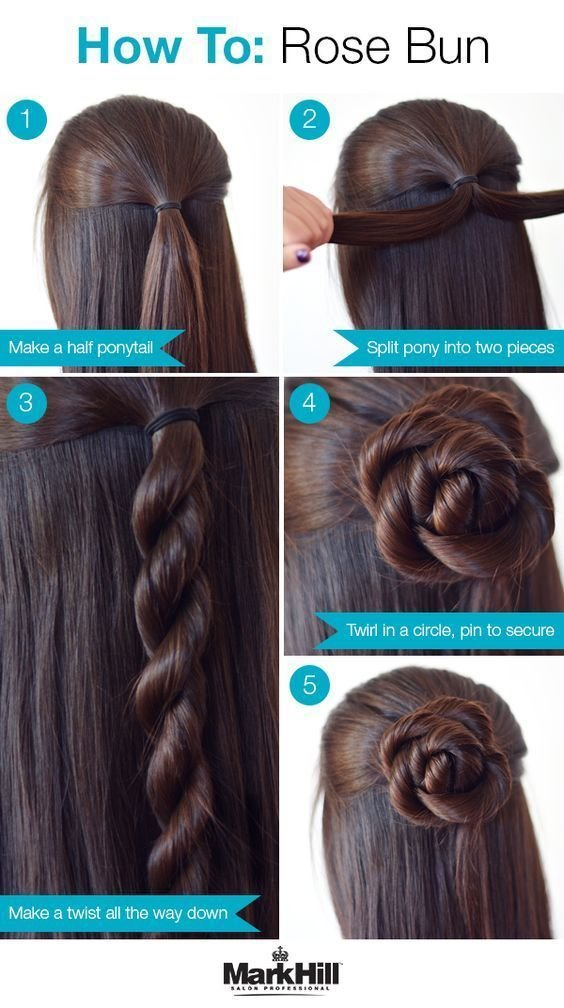The Best 26 Amazing Bun Updo Ideas For Long Medium Length Hair In Pictures