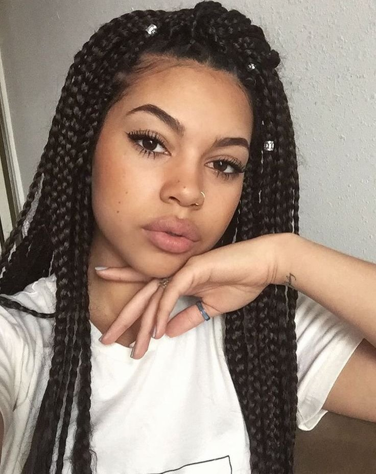 The Best Box Braids Tumblr Protective Hairstyles Box Braids Pictures