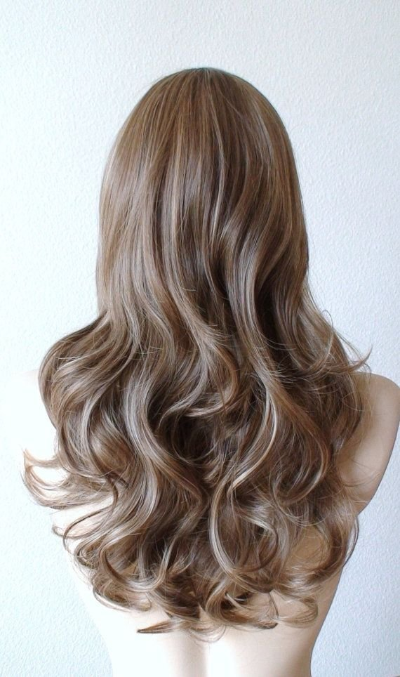 The Best Brown D*Rty Blonde Ash Blonde Wiglace Front Wig Long Pictures