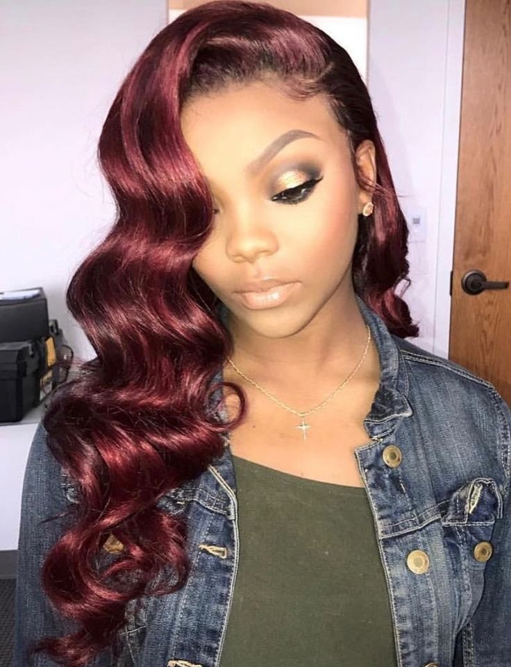 The Best Best 25 Red Weave Hairstyles Ideas On Pinterest Red Pictures