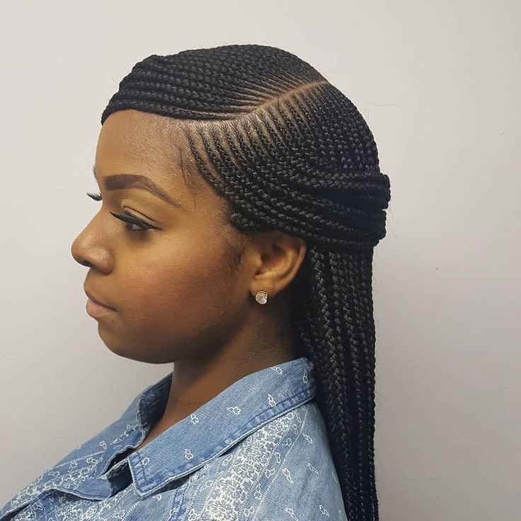 The Best Side Part Box Braids Braids Njbraids Njhairstylist Pictures