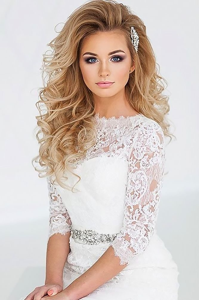 The Best Best 25 Curly Wedding Hairstyles Ideas On Pinterest Pictures