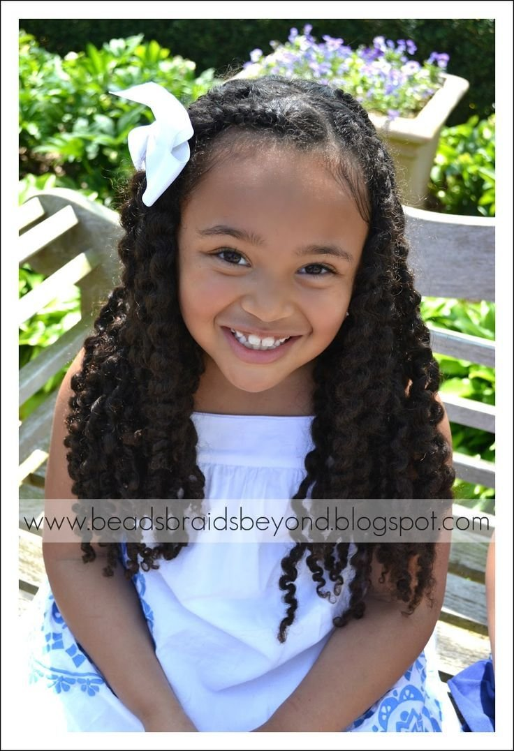 The Best Half Up Hairstyles For Mixed People Little Girls Natural Pictures