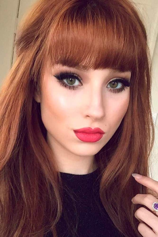 The Best 22 Nice And Flattering Hairstyles With Bangs Hair Ideas Pictures