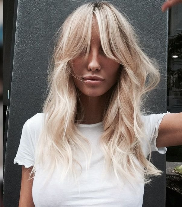 The Best Best 25 Bangs Long Hair Ideas On Pinterest Haircuts For Pictures
