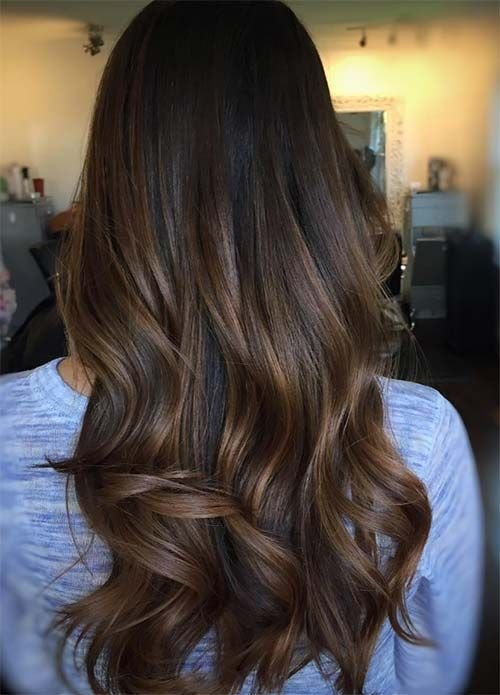 The Best 100 Dark Hair Colors Black Brown Red Dark Blonde Shades Hairstyles Brown Hair Balayage Pictures