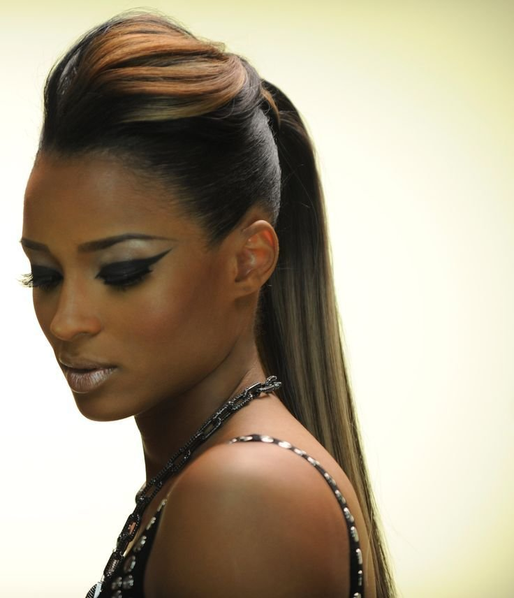 The Best Best 25 Black Ponytail Hairstyles Ideas On Pinterest Pictures