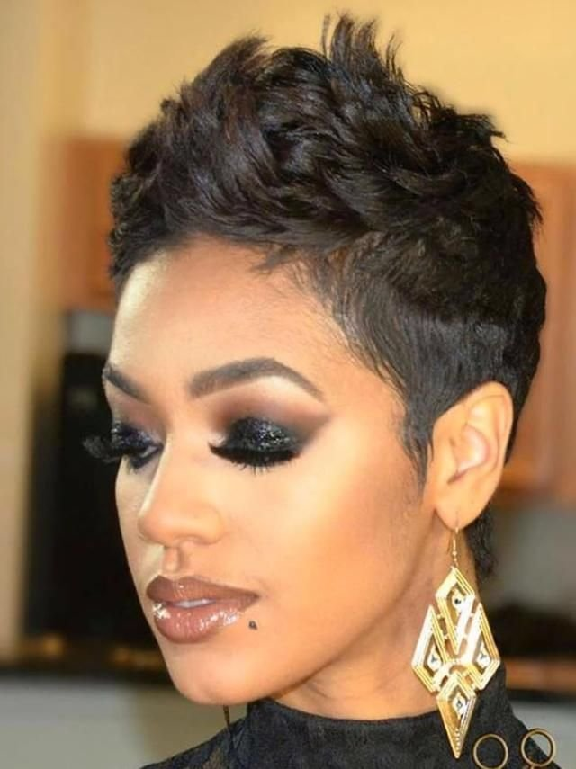 The Best Best 50 Pixie Short Haircuts For Black Women 2019 Pictures