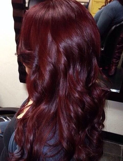 The Best Mixing Dark Brown And Burgundy Hair Dye Hair Galore And Pictures