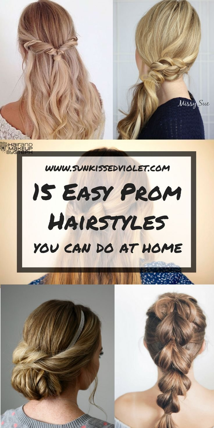 The Best 15 Easy Prom Hairstyles For Long Hair You Can Diy At Home Pictures