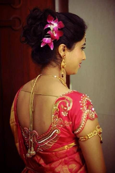 The Best Indian Bride S Reception Hairstyle Styled By Swank Studio Pictures