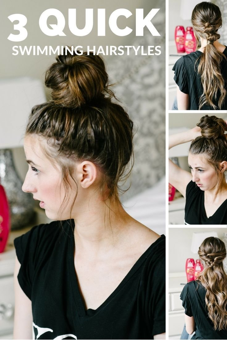 The Best 3 Summer Pool Hairstyles Hair Tutorials Inspiration Pictures