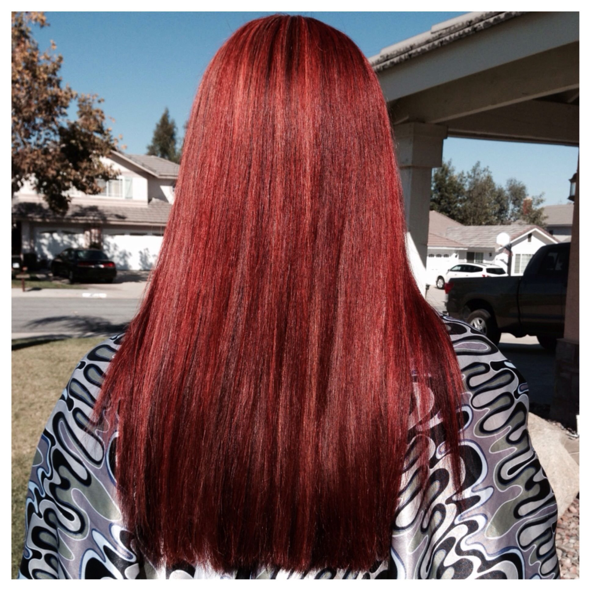 The Best Matrix Socolor Hd Reds Red Hair Long Hair Dimensional Red Pictures