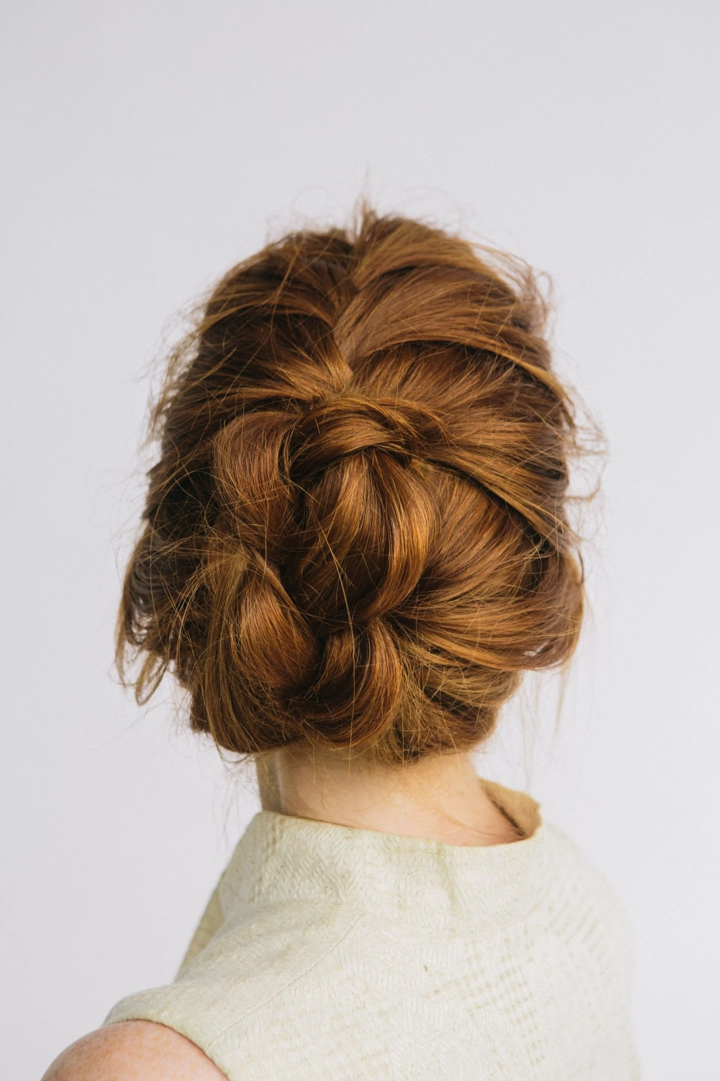 The Best How To Braided Bun With L'oreal Paris Advanced Hairstyle Pictures