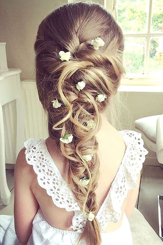 The Best 33 Cute Flower Girl Hairstyles 2017 Update Fashion Pictures