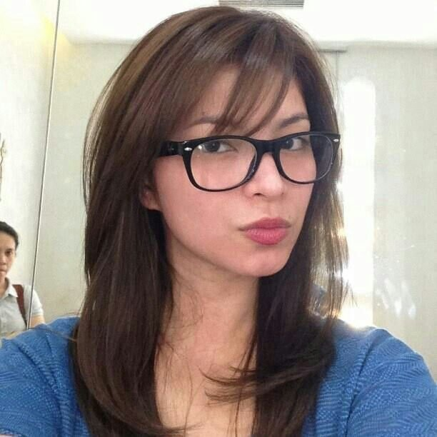 The Best Angel Locsin Hair The Crowning Glory Bangs Glasses Pictures