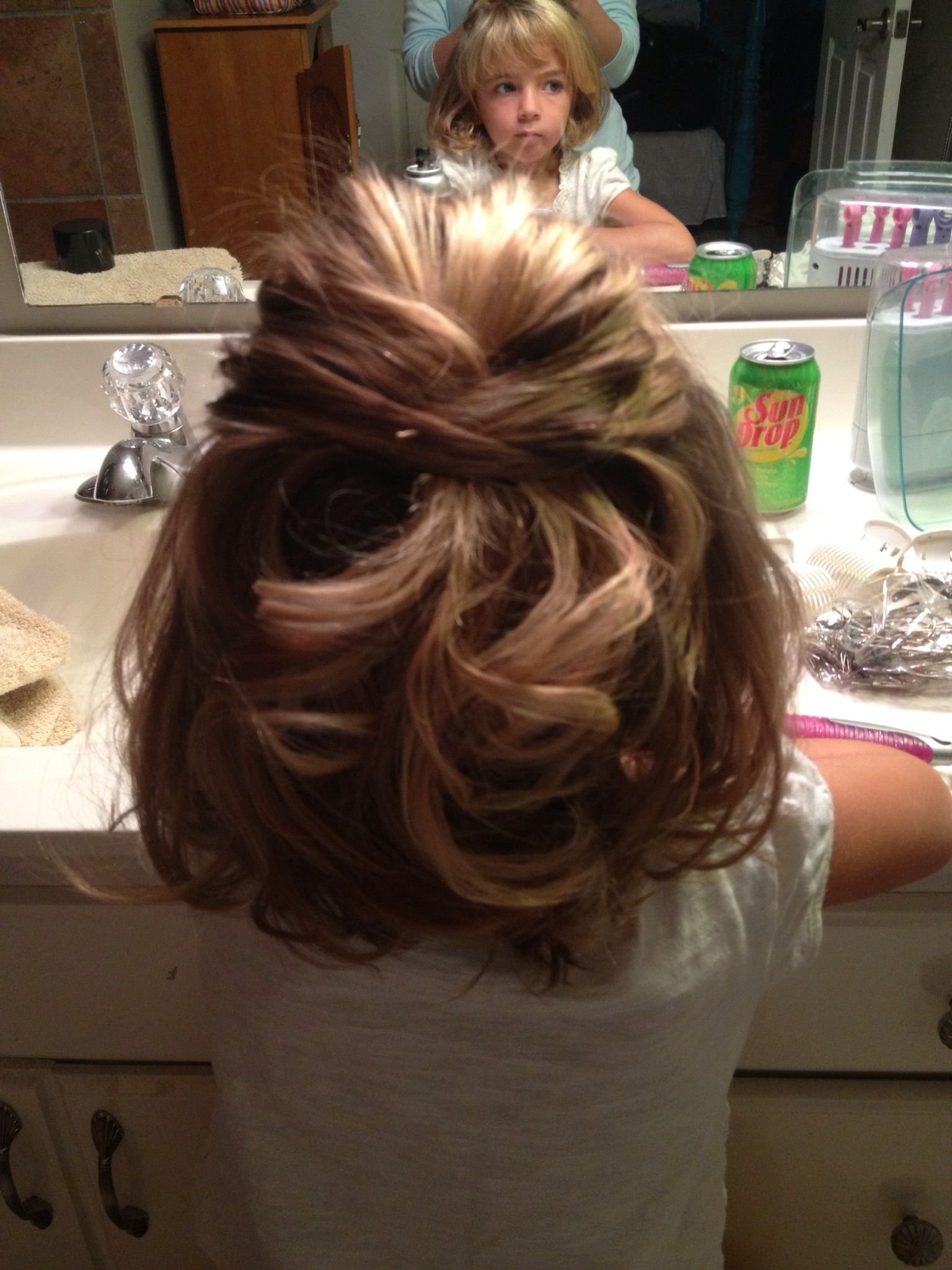 The Best Little Girls Wedding Hair My Niece Annabel Loved Her Pictures