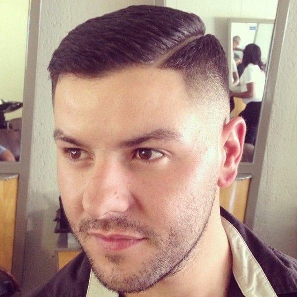 The Best Fade Slick Razor Side Line Front Barbershops Hair Cuts Pictures