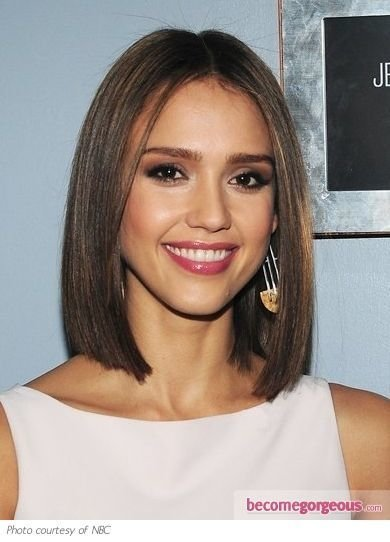 The Best One Length Above Shoulder Hair Cut Hair Hair Cuts Pictures