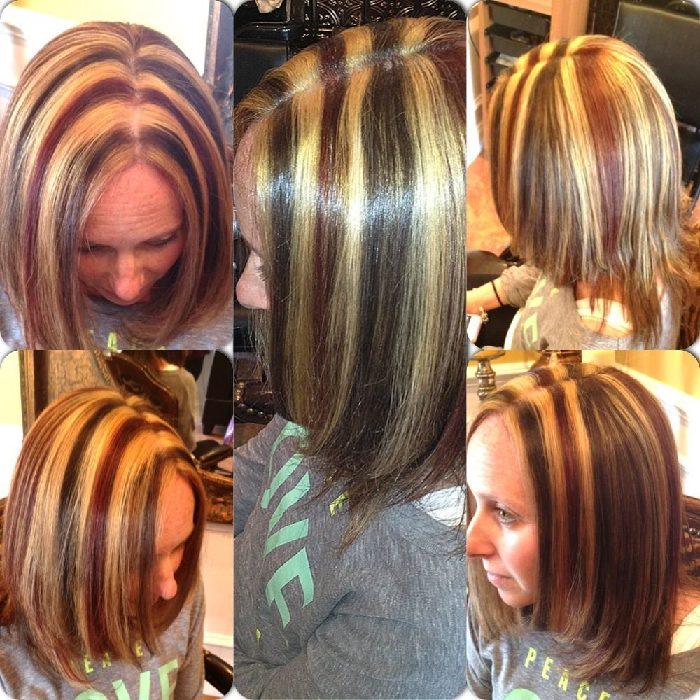 The Best 3 Colored Highlights Colorangel5 Hotmail Com Hair Hair Highlights Hair Colored Highlights Pictures